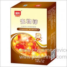 生物锌(牡蛎夹心型凝胶糖果)